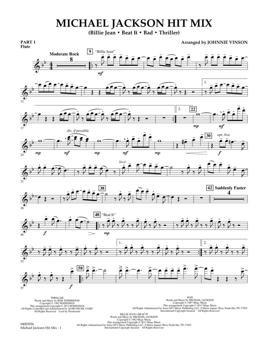 Michael Jackson Hit Mix - Pt.1 - Flute