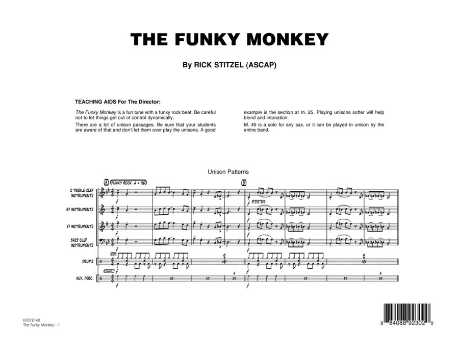 The Funky Monkey - Conductor Score (Full Score)