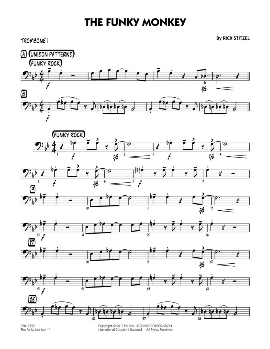 The Funky Monkey - Trombone 1