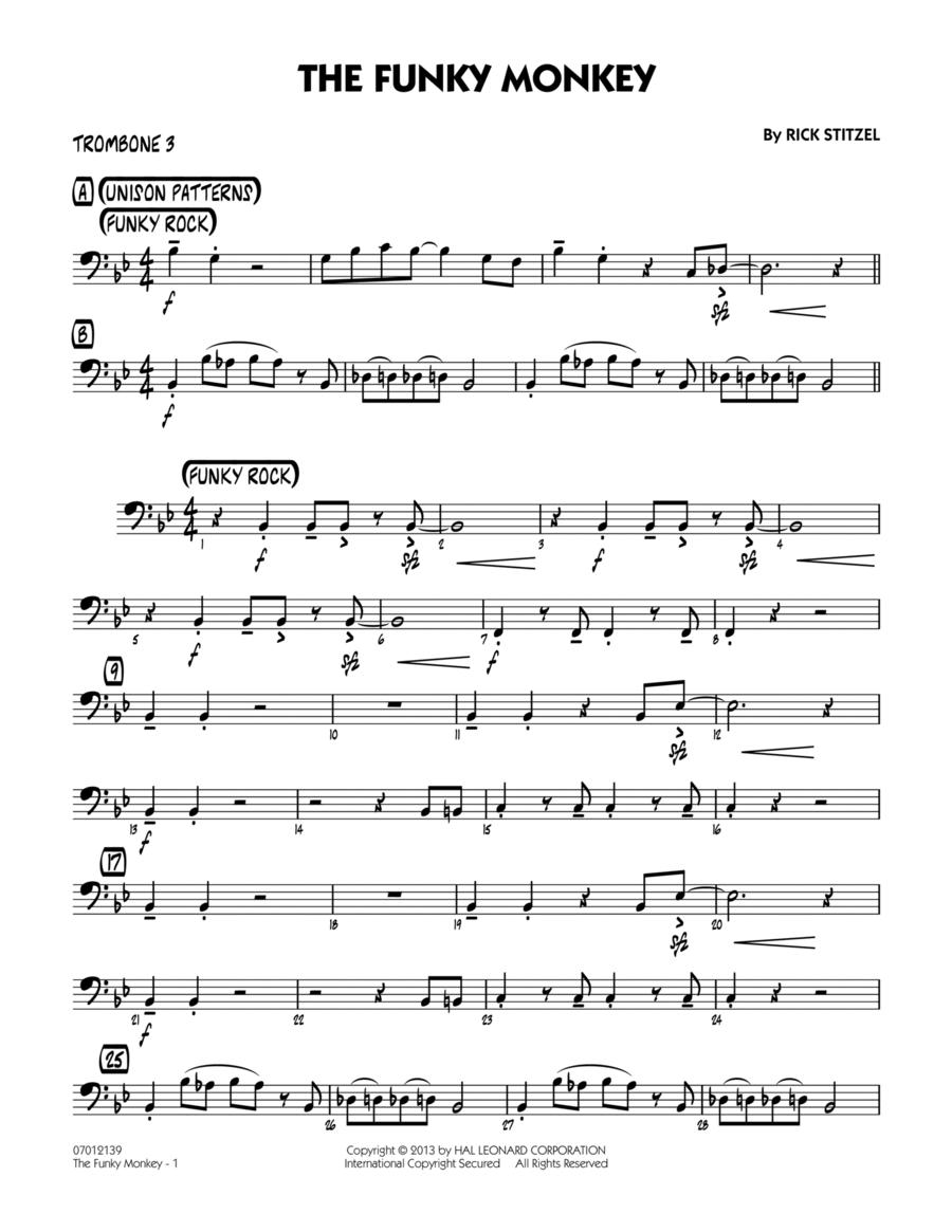 The Funky Monkey - Trombone 3