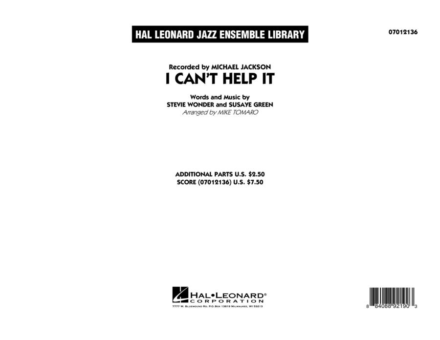I Can't Help It - Conductor Score (Full Score)
