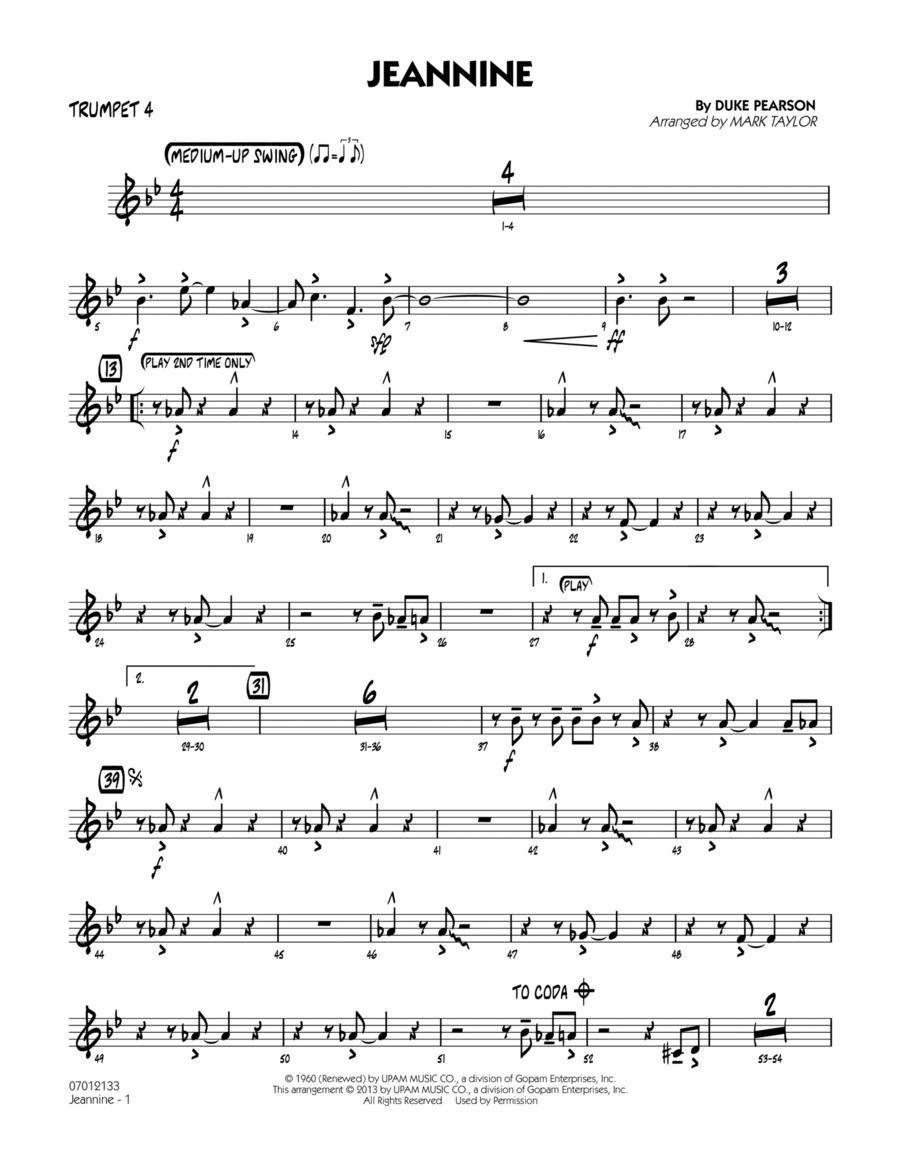 Jeannine - Trumpet 4