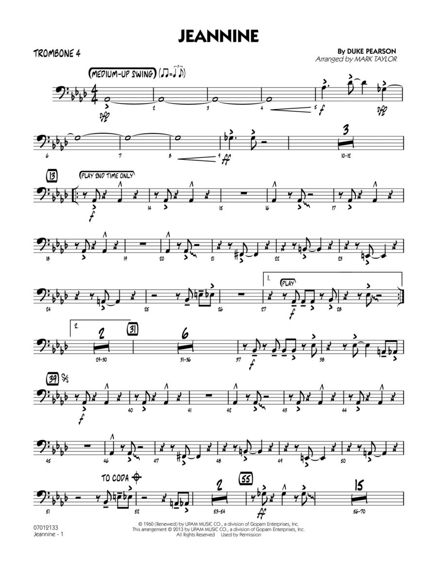 Jeannine - Trombone 4