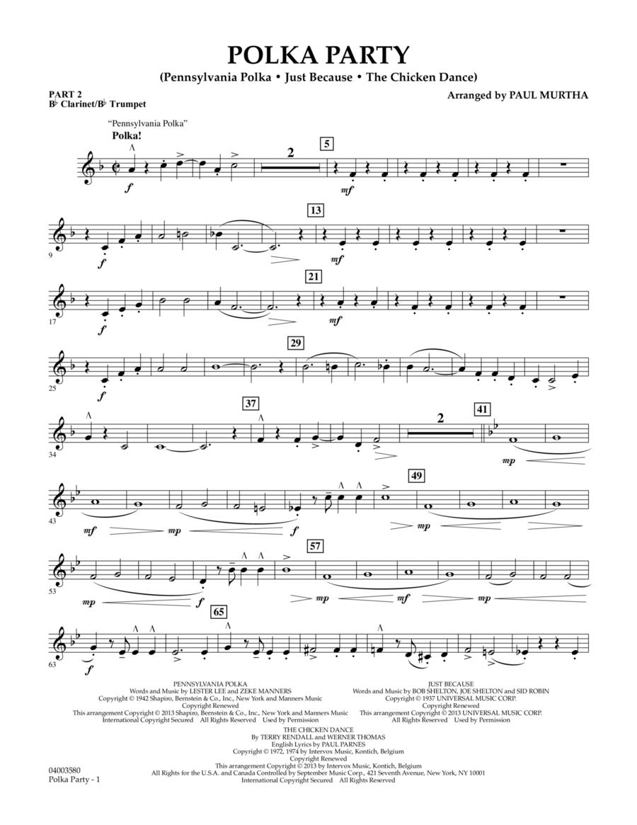 Polka Party - Pt.2 - Bb Clarinet/Bb Trumpet