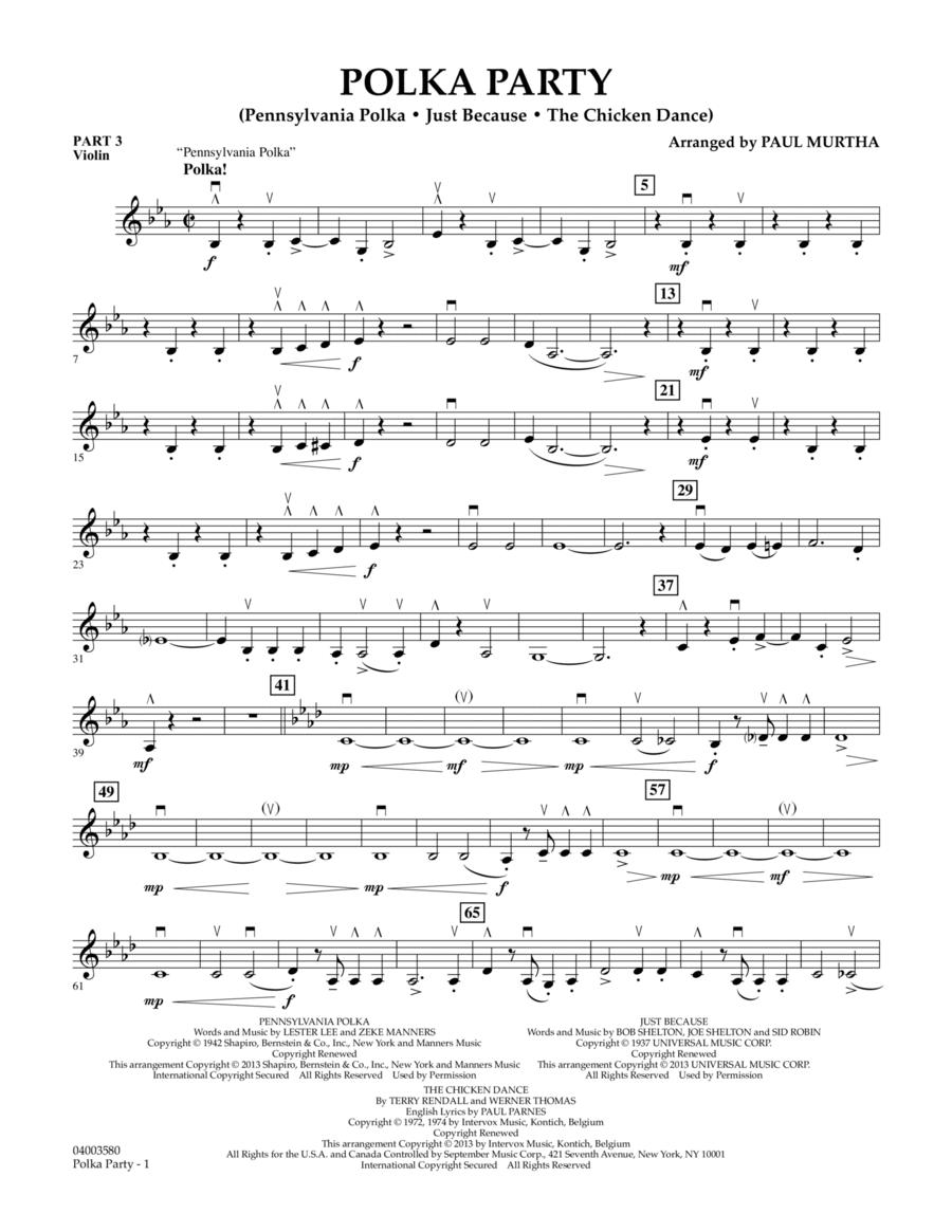 Polka Party - Pt.3 - Violin