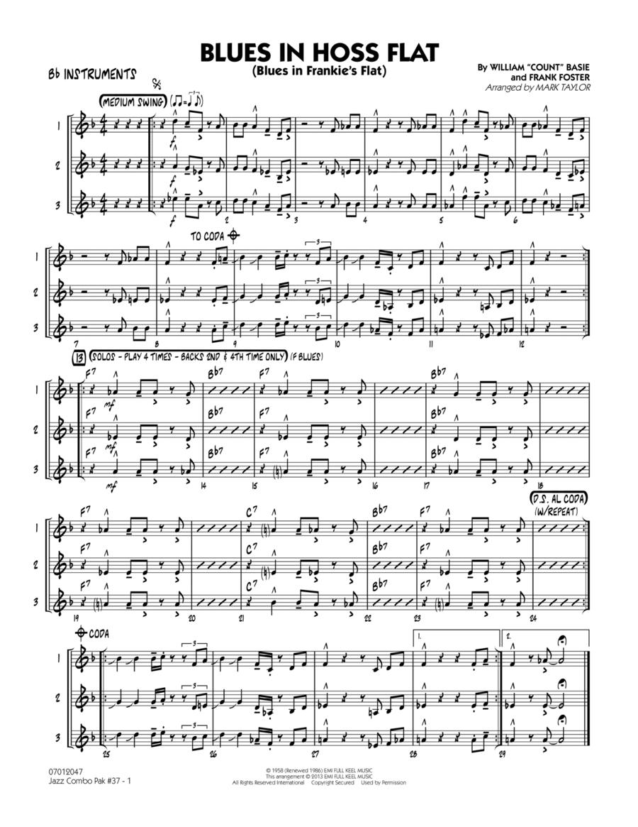 Jazz Combo Pak #37 (Count Basie) - Bb Instruments