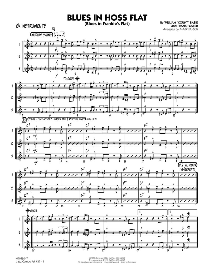 Jazz Combo Pak #37 (Count Basie) - Eb Instruments