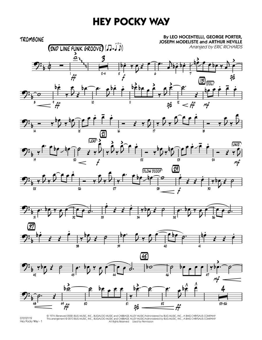 Hey Pocky Way - Trombone