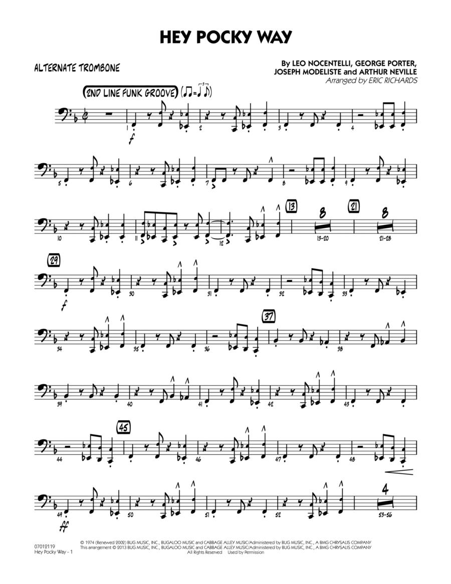 Hey Pocky Way - Alternate Trombone