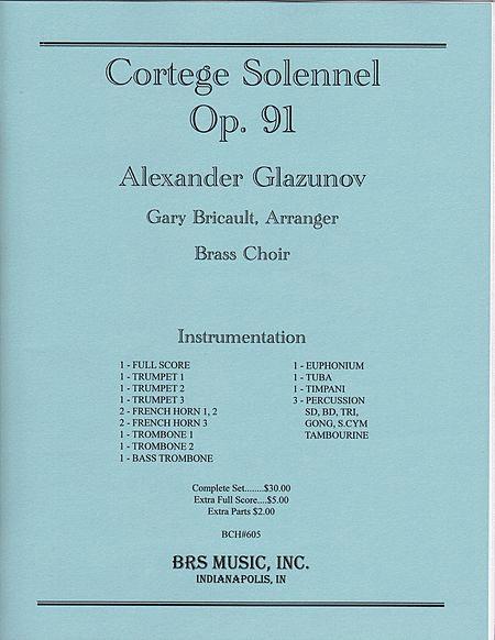 Cortege Solennel, Op. 91