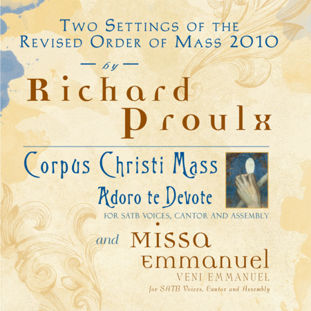 Two Settings of the Revised Order of Mass 2010 by Richard Proulx