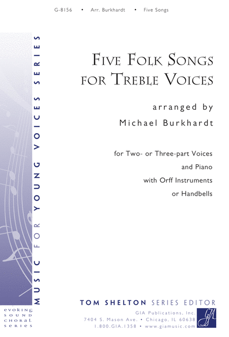 Five Folk Songs for Treble Voices