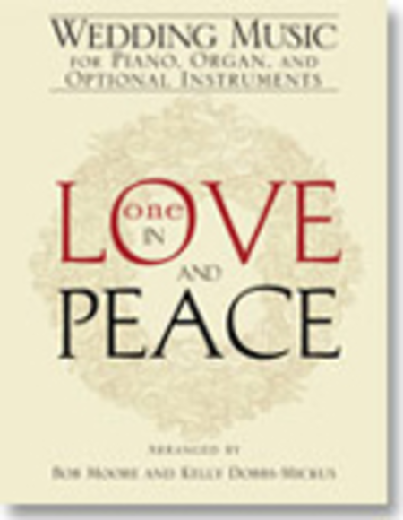 One in Love and Peace - Instrument edition