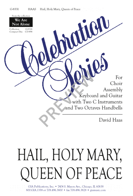 Hail, Holy Mary, Queen of Peace
