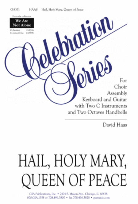 Hail, Holy Mary, Queen of Peace - Instrument edition
