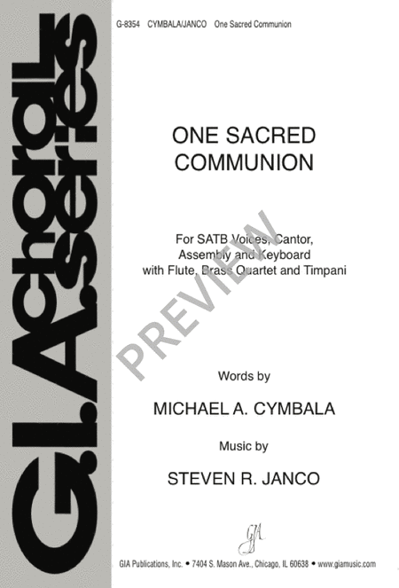 One Sacred Communion