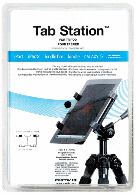 Tab Station for Tripod Stand