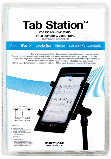 Tab Station for Mic Stand