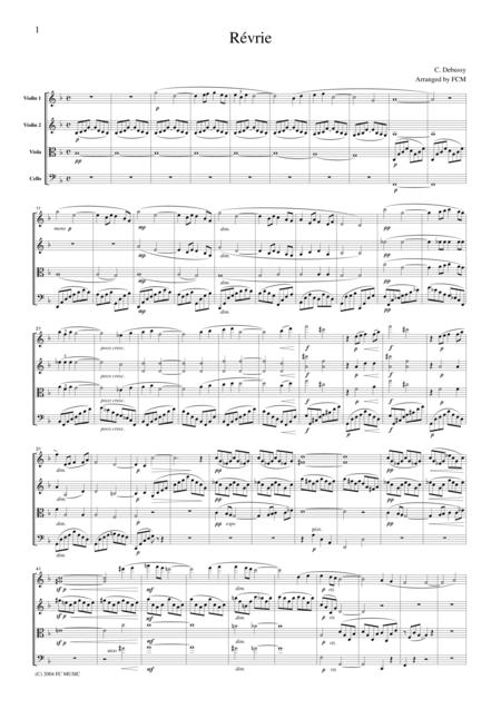 Debussy Revrie (Dreaming)