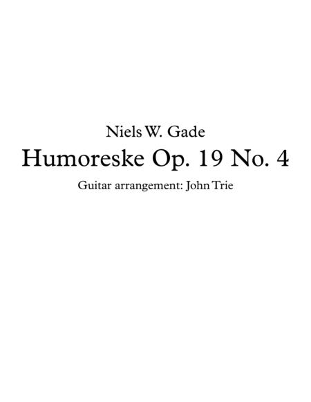 Humoreske - Op. 19 No. 4