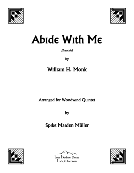 abide with me music sheet pdf