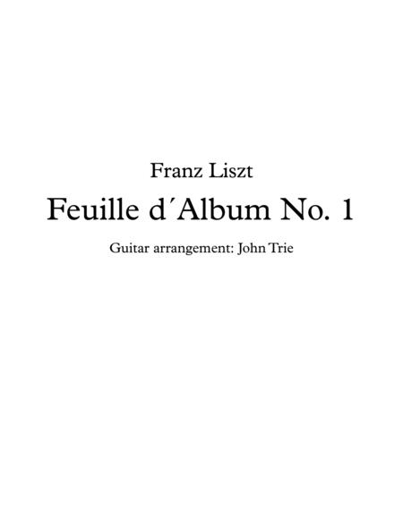 Feuille dAlbum No. 1