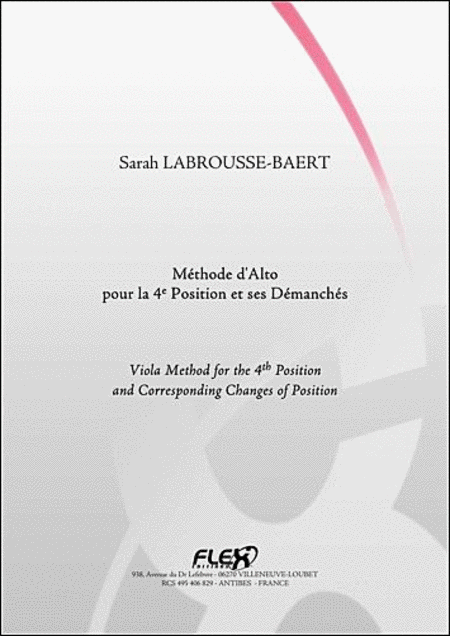 Tuition Book - S. Labrousse-Baert - Solo Viola