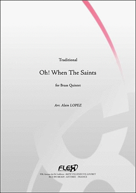 Oh! When The Saints - Brass Quintet