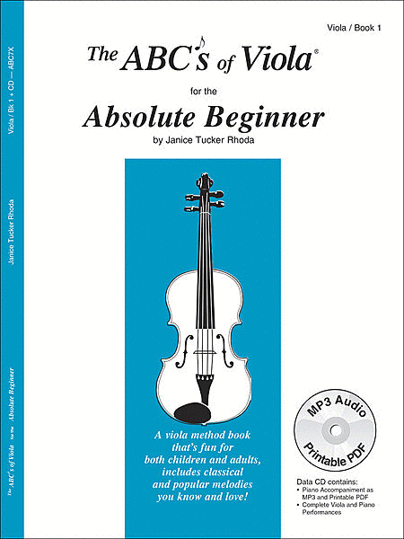 The ABCs Of Viola for The Absolute Beginner