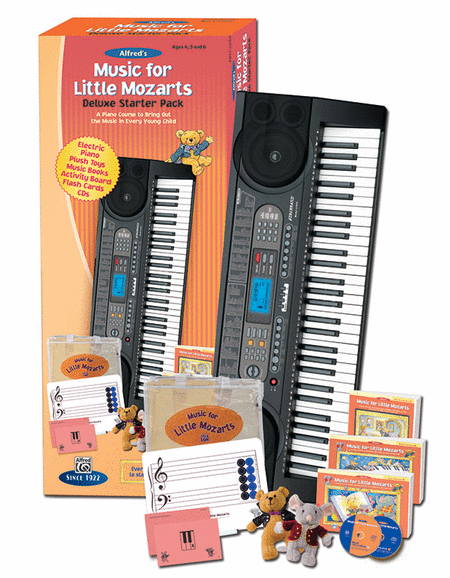 Music for Little Mozarts -- Deluxe Starter Pack