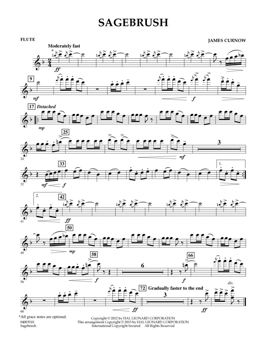 Sagebrush - Flute