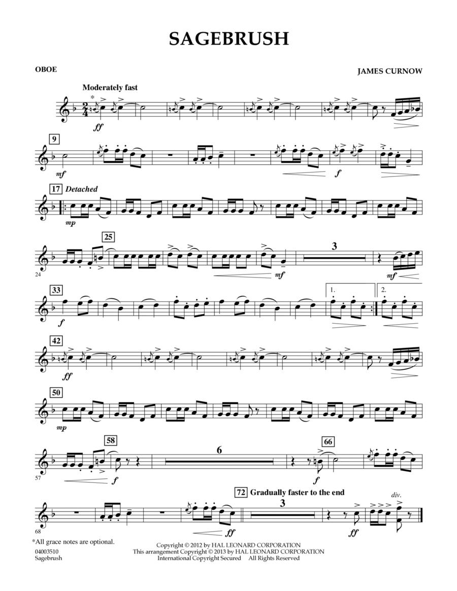 Sagebrush - Oboe