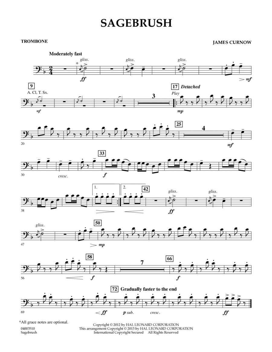 Sagebrush - Trombone