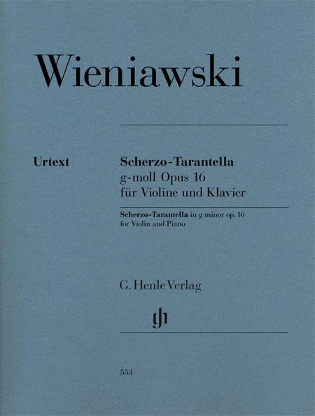 Scherzo-Tarantella in G minor, Op. 16