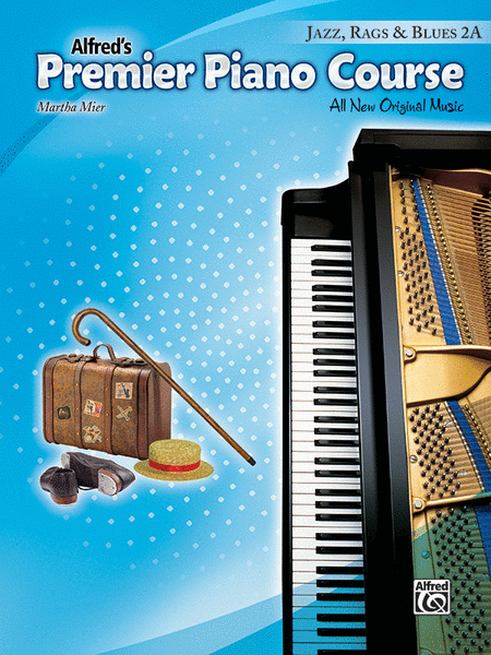 Premier Piano Course Jazz, Rags & Blues, Book 2A
