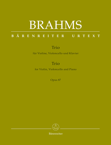 Trio for Violin, Violoncello and Piano op. 87