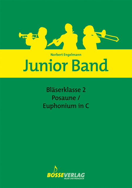 Junior Band Blaserklasse 2 fur Posaune / Euphonium in C