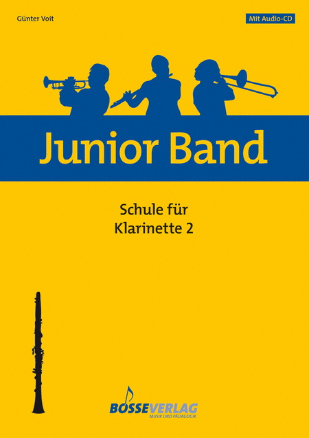 Junior Band Schule 2 fur Klarinette