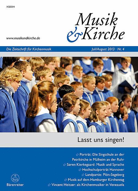Musik & Kirche, Heft 4/2013
