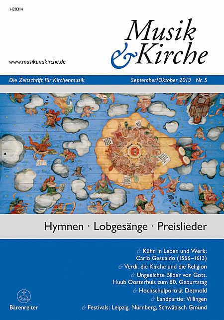 Musik & Kirche, Heft 5/2013