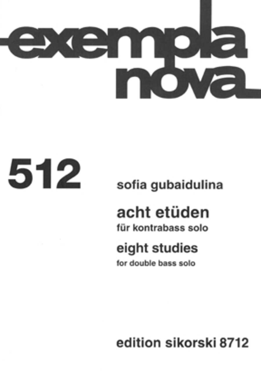 Eight Studies [Acht Etüden]