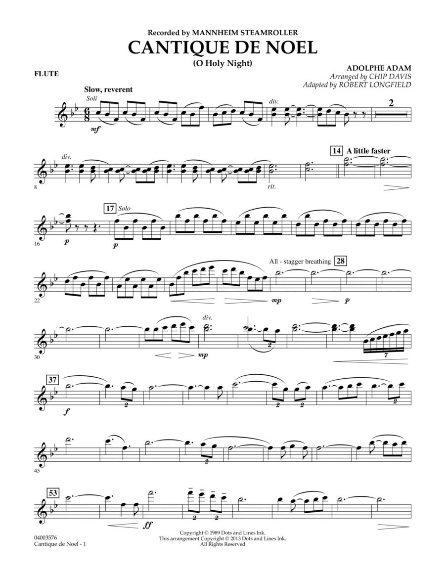 Cantique de Noel (O Holy Night) - Flute