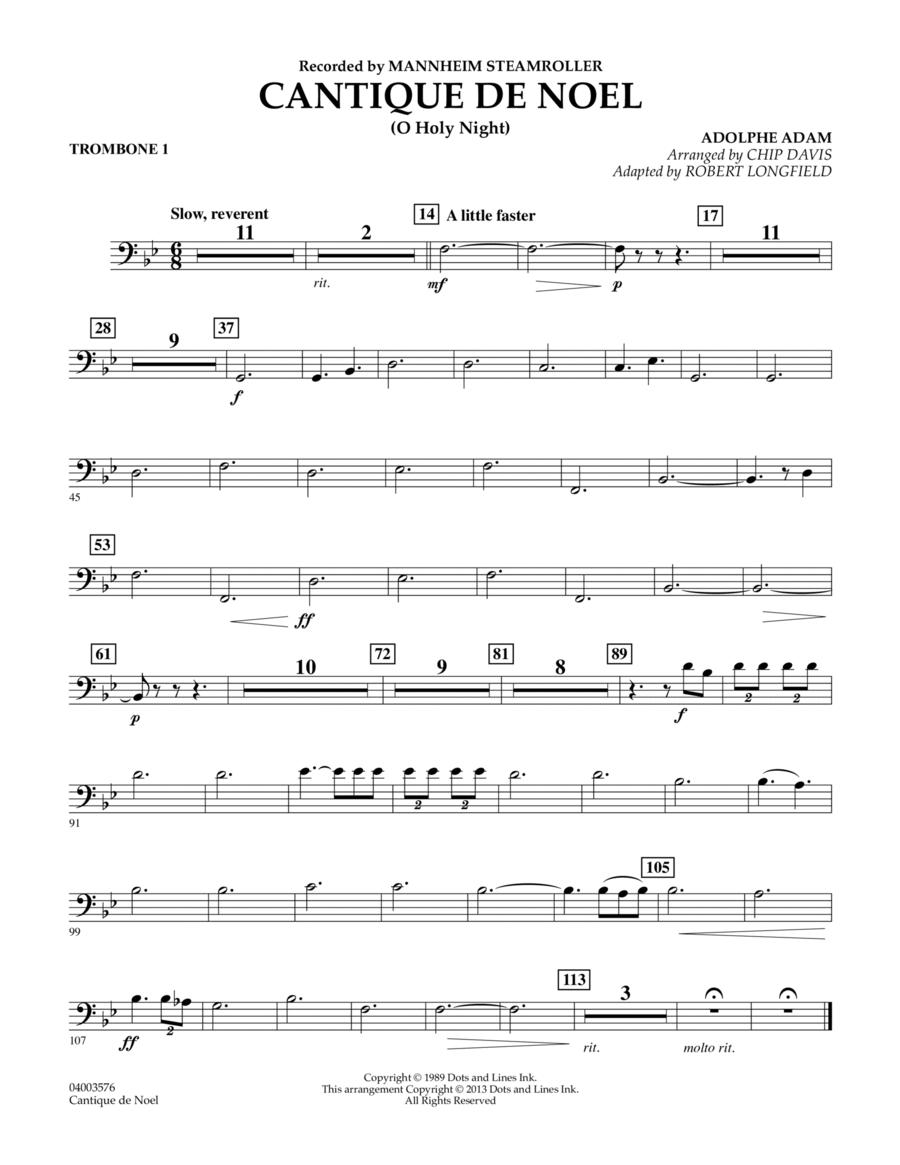 Cantique de Noel (O Holy Night) - Trombone 1
