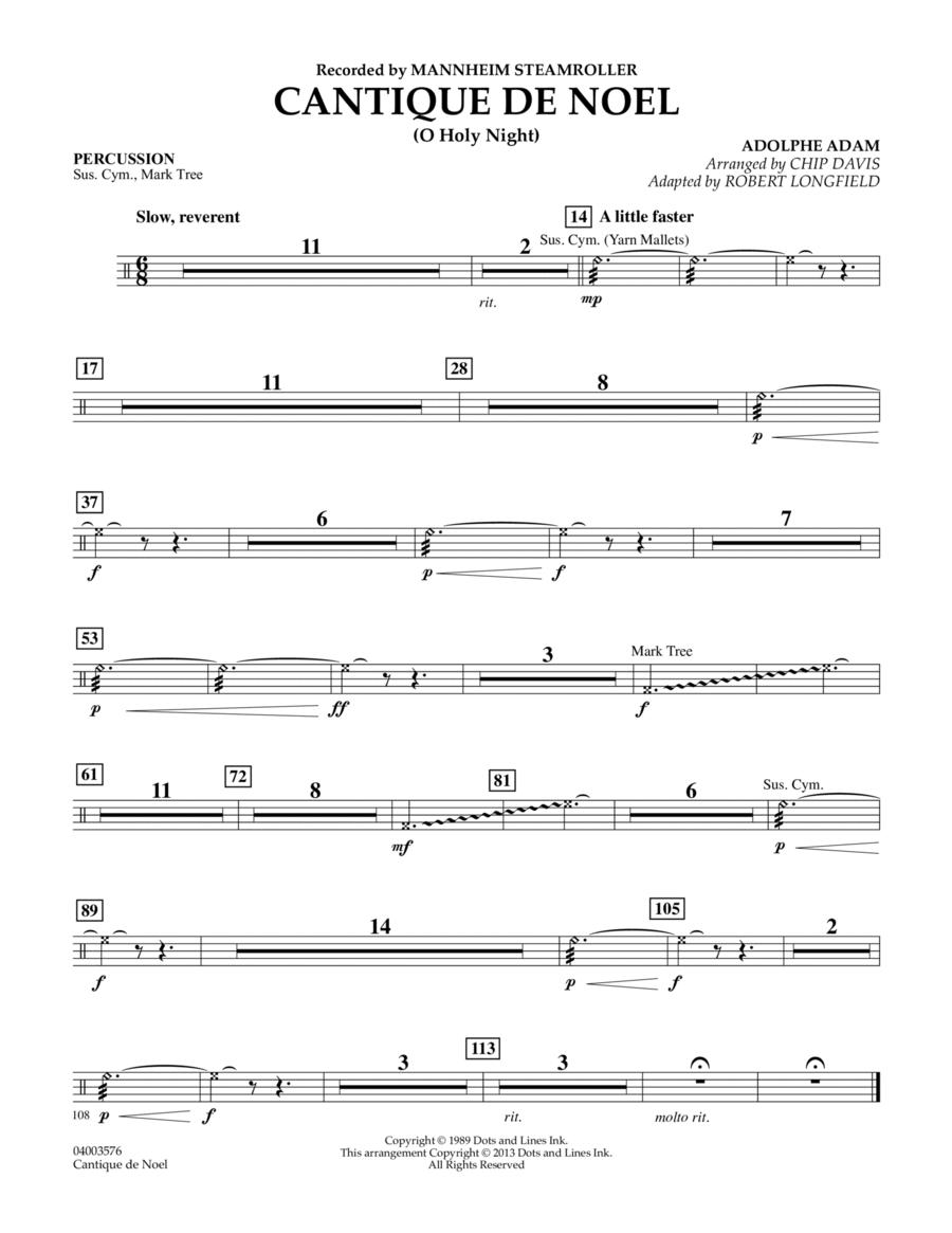 Cantique de Noel (O Holy Night) - Percussion