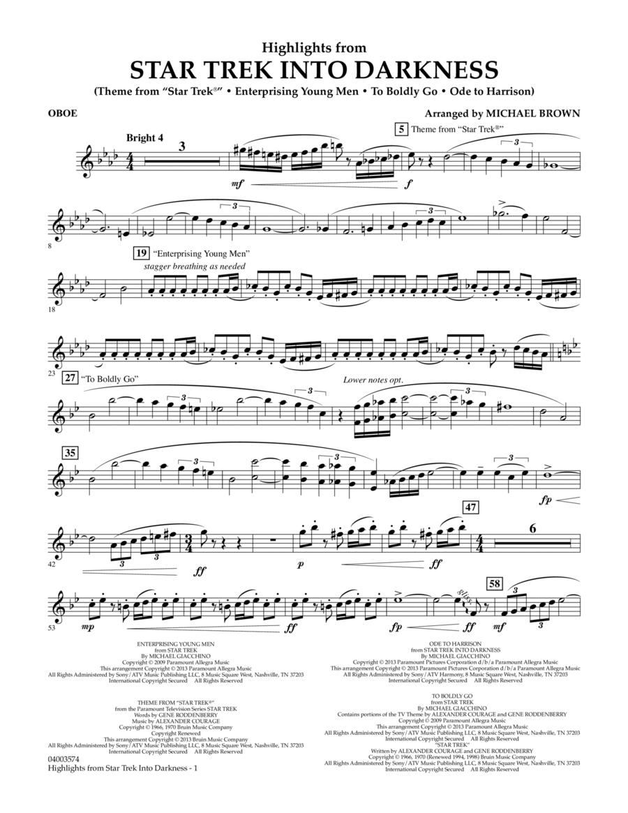 Highlights from Star Trek Into Darkness - Oboe