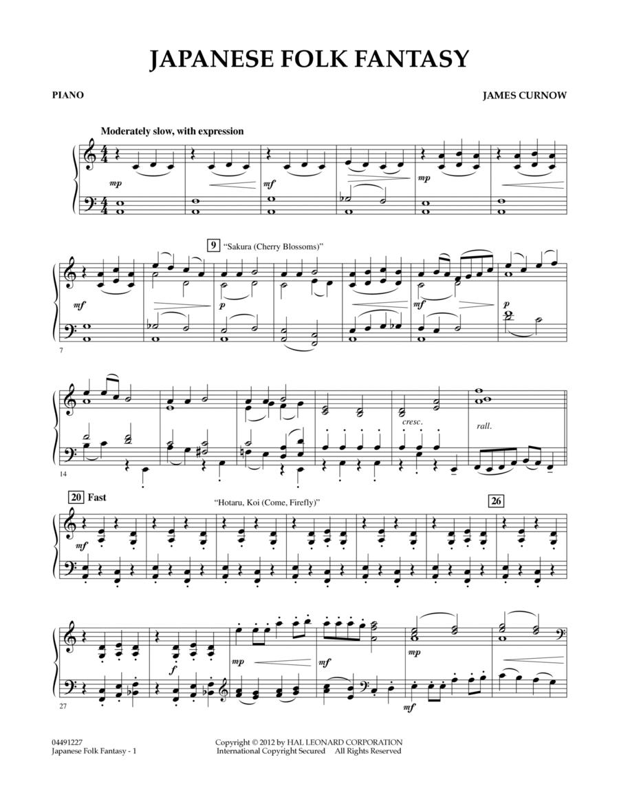Japanese Folk Fantasy - Piano
