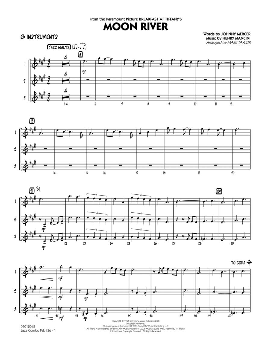 Jazz Combo Pak #36 (Henry Mancini) - Eb Instruments