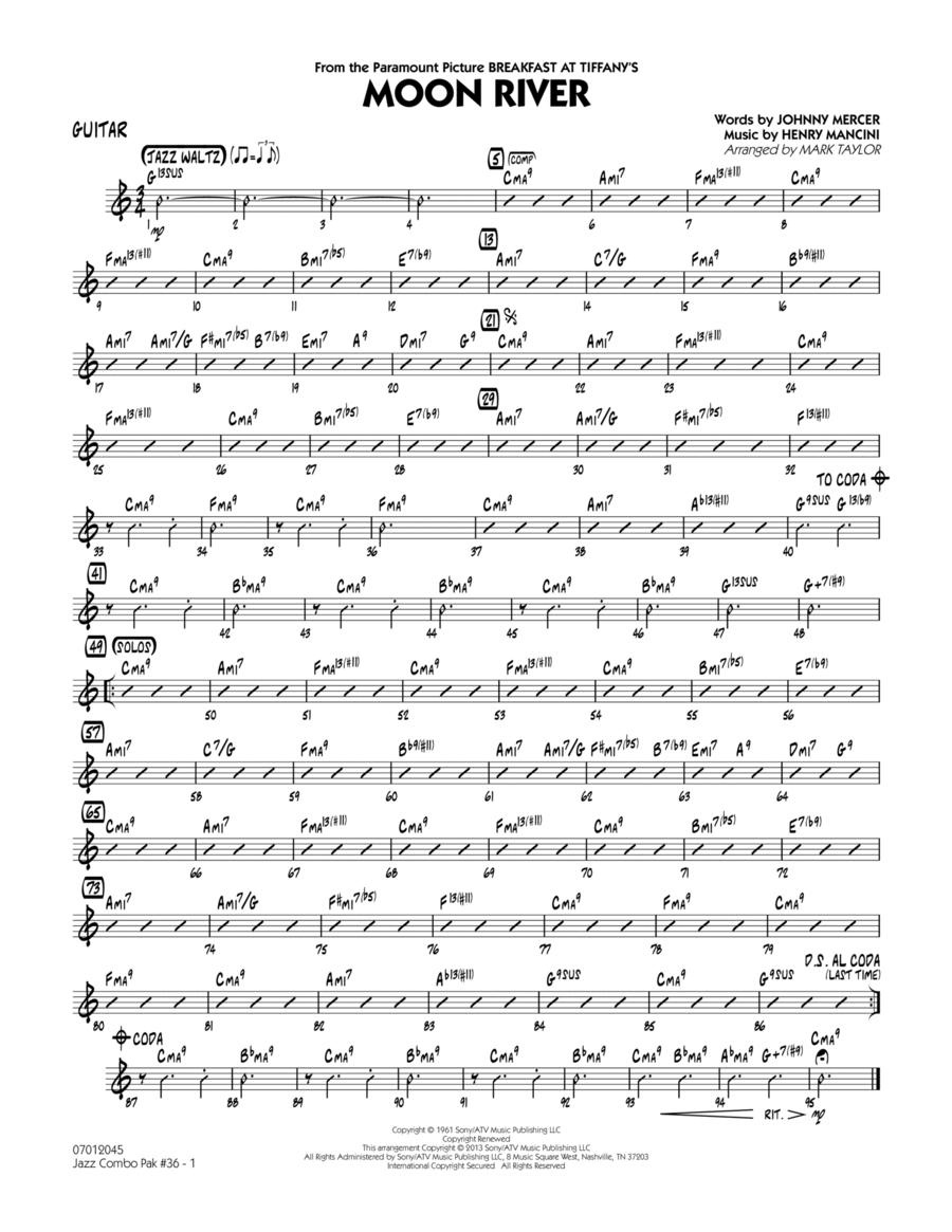 Jazz Combo Pak #36 (Henry Mancini) - Guitar