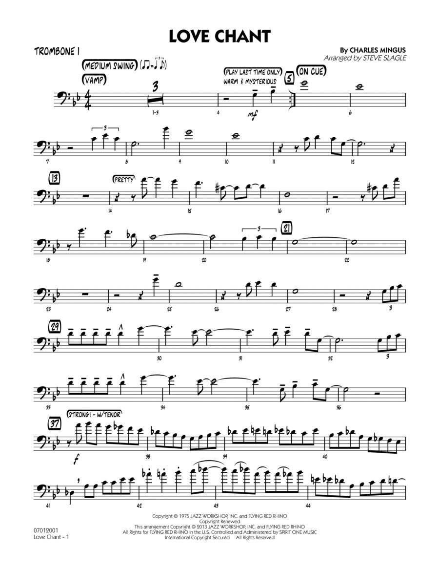 Love Chant - Trombone 1