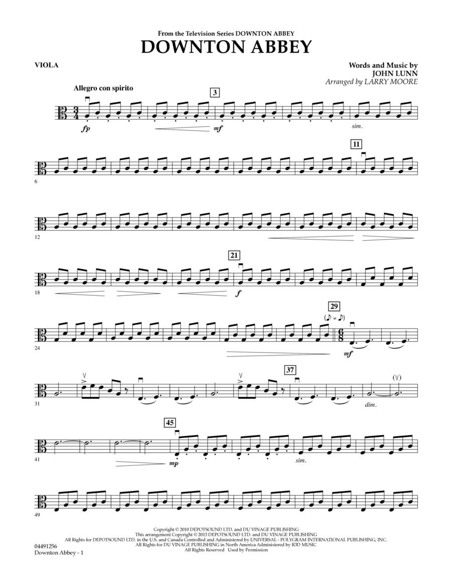 Downton Abbey - Viola